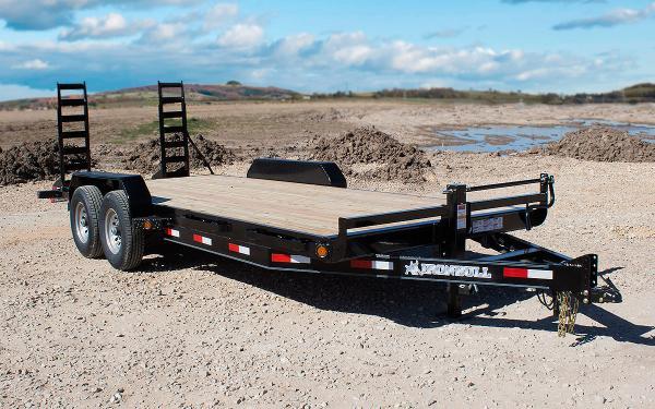 7x18 Ironbull Equipment Trailer 14k