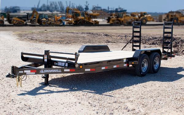 7x22 Ironbull Equipment Trailer 14k
