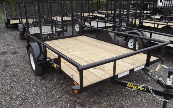 New 2015 Big Tex Trailers Single Axle 30SA 35SA
