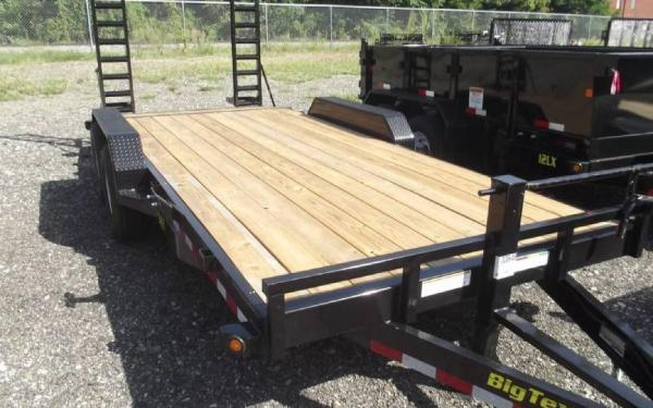 New 2015 Big Tex Trailers Equipment and Tilt Trailers 14FT-18