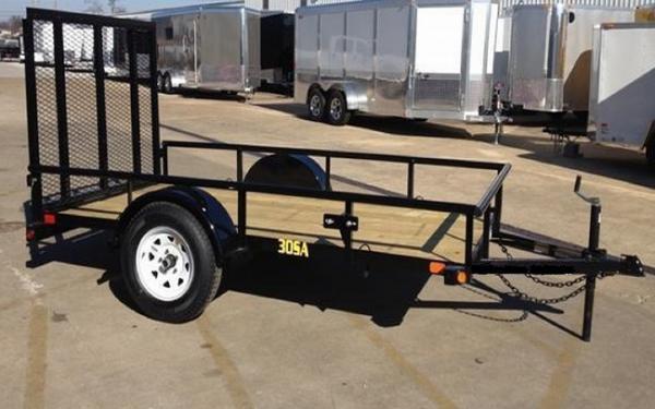 "30SA -60"" x 10 Single Axle Utility Trailer"