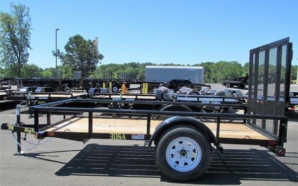 Big Tex 30SA- 10 Single Axle Utility Trailer