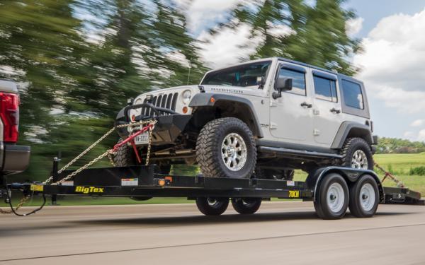 """Big Tex 70CH 83"""" x 18 Tandem Axle Car Hauler"""