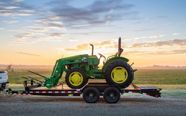 "Big Tex 14ET-83"" x 20 Tandem Axle Equipment Trailer"