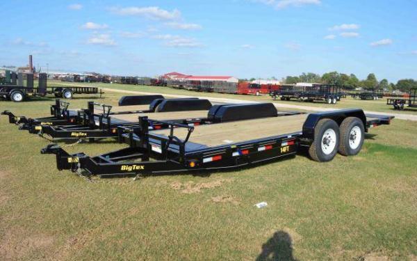 "Big Tex 14FT 83"" x 18 Heavy Duty Full Tilt Bed Equipment Trailer"