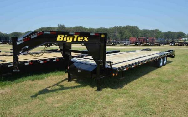 Big Tex Tandem Axle Gooseneck Trailer 14GN-25+5
