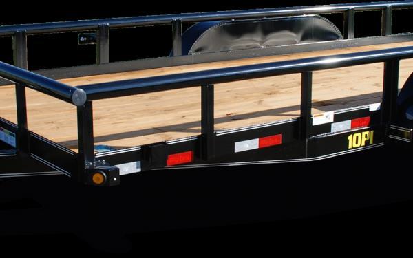 Big Tex 10PI-14  Pro Series Tandem Axle Pipe Top Utility