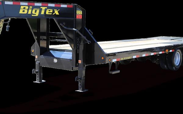 Big Tex 22GN-20+5 Tandem Dual Wheel Gooseneck