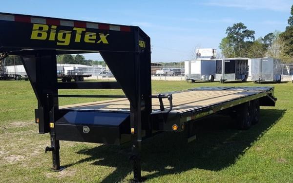 Big Tex 14GN,(8 1/2 x 25+5 Black,DT with 2-Megaramps