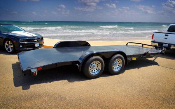 Big Tex 18ft Diamond Back Car Hauler