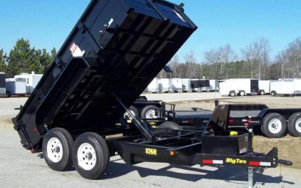 "Big Tex Pro Series Dump Trailer 12' x 83"""