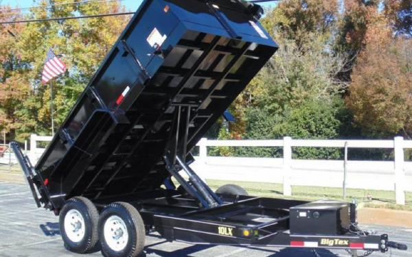 12ft Pro Series Scissor Lift Dump Trailer