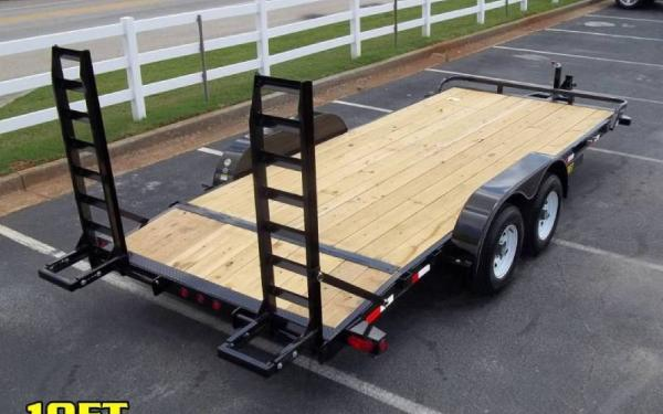 Big Tex 18' x 7' Pro Series Equipment Trailer