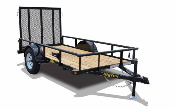 "Big Tex Single Axle Utility 10' x 60"""