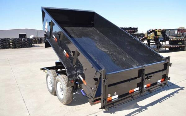 12' Big Tex Dump Trailer