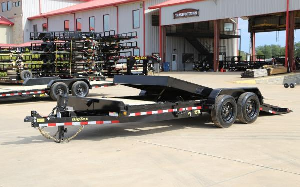 "16TL-83"" x 22 (16 + 6) Super Duty Tilt Bed Trailer"