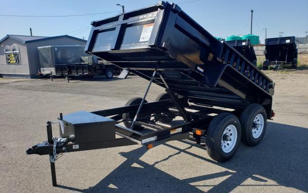 6x12 Carry-On Dump Tandem Axle 10k