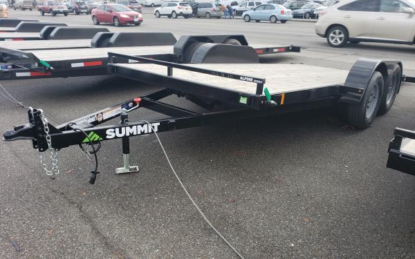 7x18 Summit Alpine Tilt Deck Trailer 7k