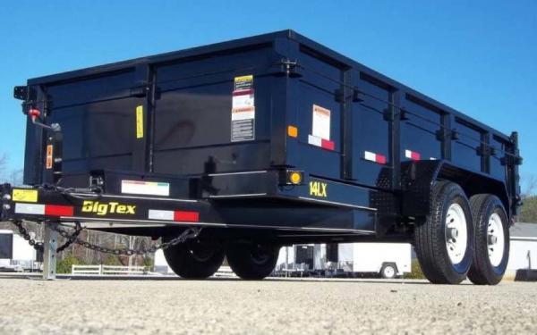 14' Big Tex Dump Trailer