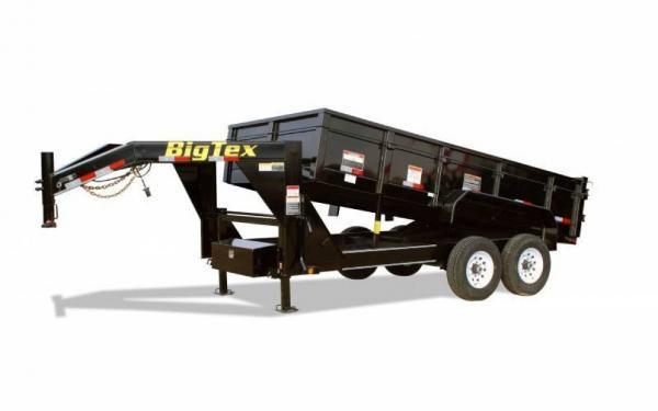 Big Tex 16' Gooseneck Dump
