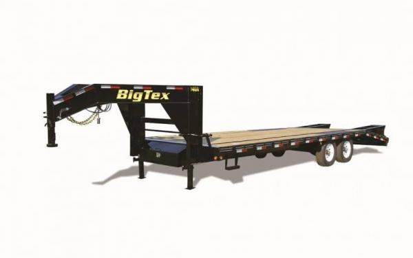 Big Tex 20' Gooseneck Trailer W/ Center Pop Up