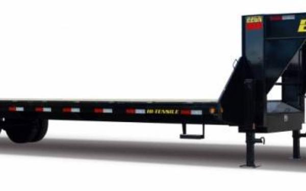 Big Tex 25' Gooseneck Trailer W/ Center Pop Up