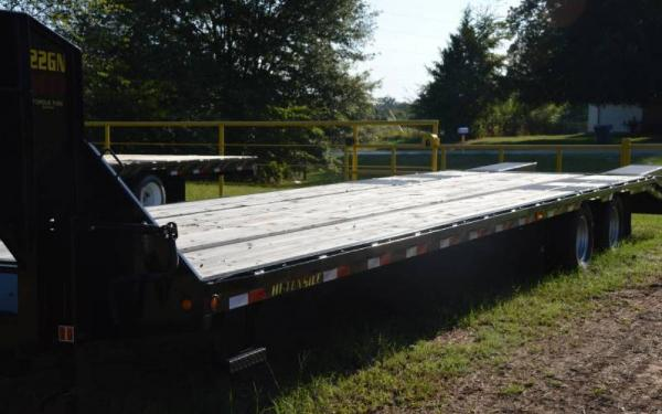 Big Tex 33' Gooseneck Trailer w/ Fold up Ramps