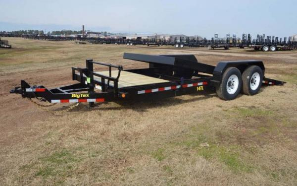 20ft Heavy Duty Tilt Bed Equipment Hauler
