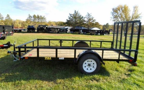 12' Big Tex Single Axle Utility Trailer