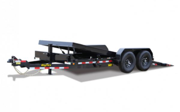 "83"" x 20 Heavy Duty Full Tilt Bed Equipment Trailer"