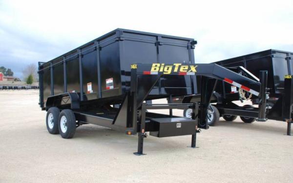 Big Tex Tandem Axle Low Profile Extra Wide Dump Trailer