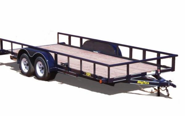Tandem Axle Pipe Utility Trailer
