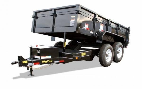 2015 Big Tex Tandem Axle Low Profile Extra Wide Dump Trailer