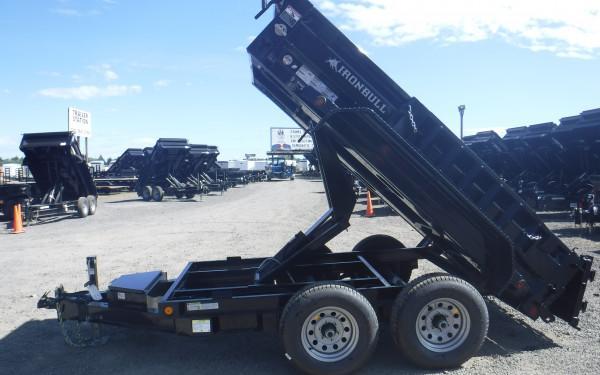 5x10 Ironbull Dump Trailer 10k