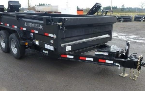6x10 Ironbull Dump Trailer 10k