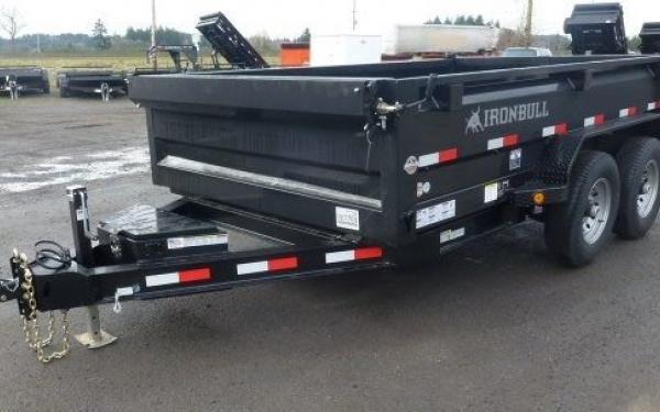 6x12 Ironbull Dump Trailer 10k