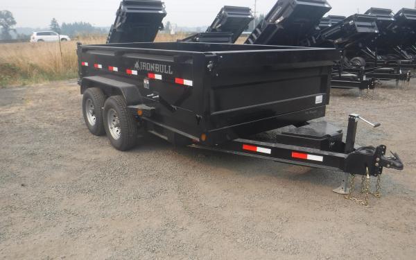 7x12 Ironbull Hi-Sides Dump Trailer 14k