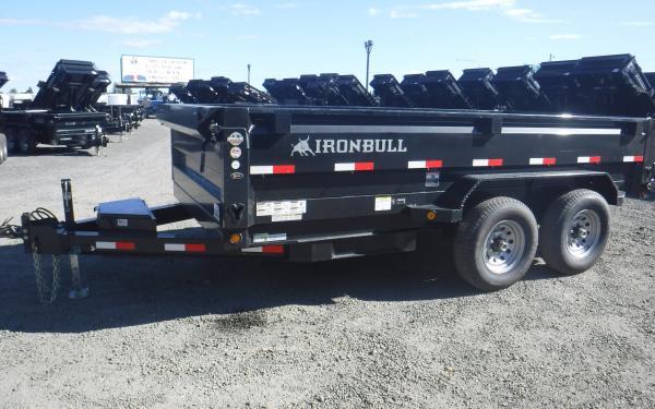 7x14 Ironbull Dump Trailer 14k