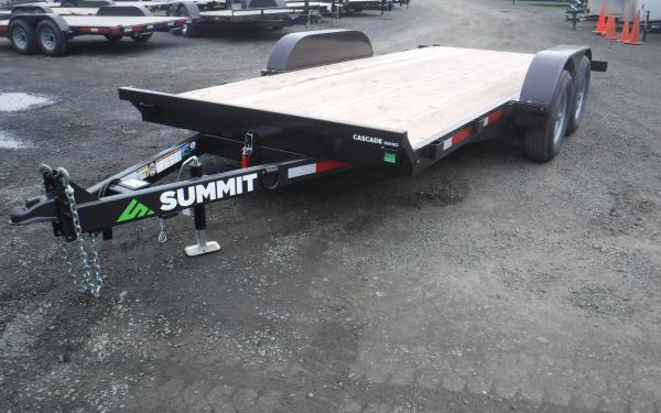7x16 Summit Cascade Tilt Equipment Trailer 10k