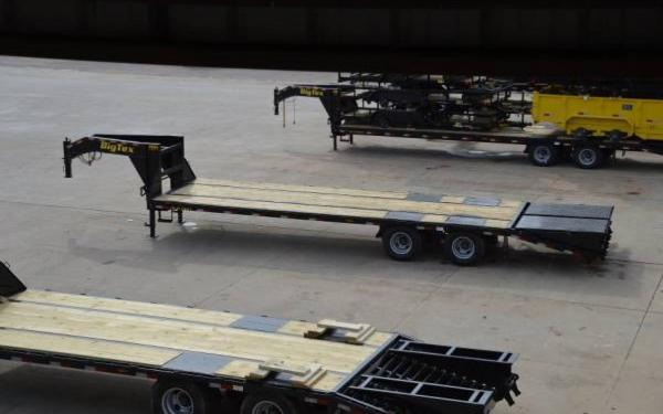 Big Tex Gooseneck Tandem Dual Axle