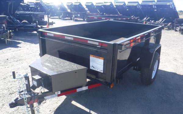 5x10 Carry-On Dump Single Axle 5k