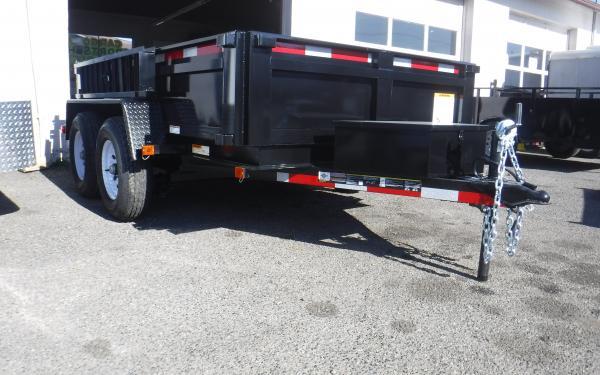 6x10 Carry-On Dump Trailer Tandem Axle 10k