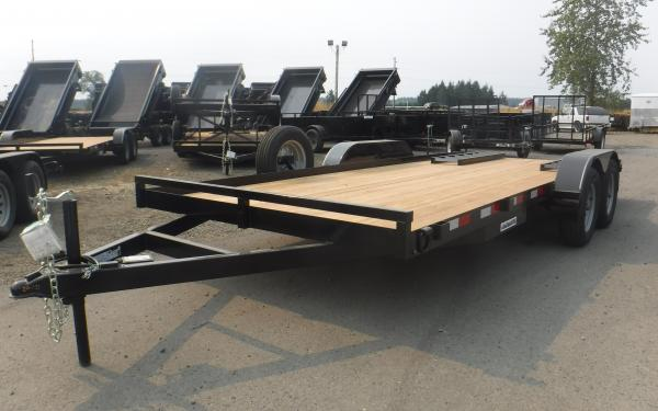 Eagle Fixed Deck Equipment Trailer 7k (16' 18' & 20')
