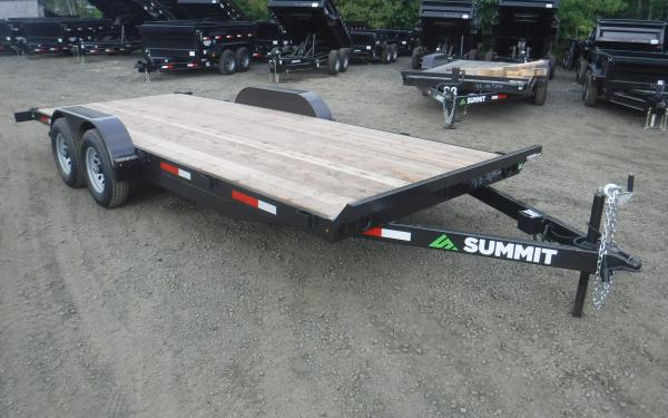Summit Cascade Fixed Equipment Trailer 14k (18' 20')