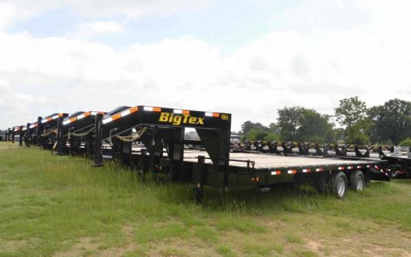 Big Tex 20+5 Tandem Axle Gooseneck