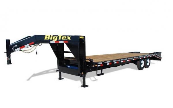 "Big Tex 102""x20'+5' Tandem Axle Gooseneck"