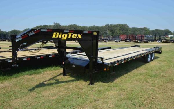 Big Tex 25'+5' Tandem Axle Gooseneck
