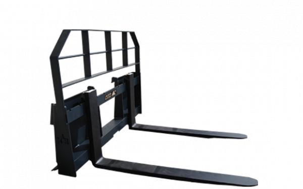 "Braber Equipment BE-PF5042LBO500J Loader Pallet Fork 42"" - Skid Steer Mount"