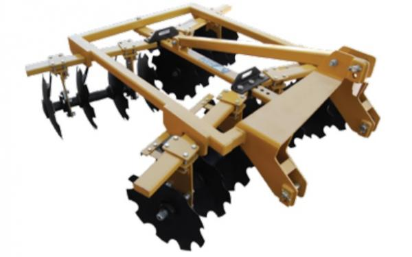 """Braber Equipment BE-DH185FK 55"""" Notched Disc Harrow"""