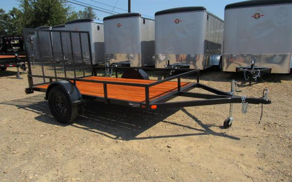 Iron Eagle 6X12' Low Rail Utility Trailer